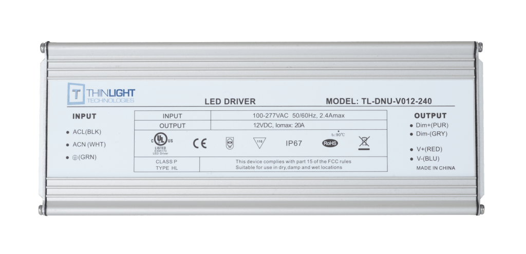 LED Driver 240 Watts