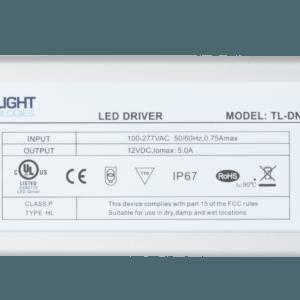 LED Driver 12V 60 Watts